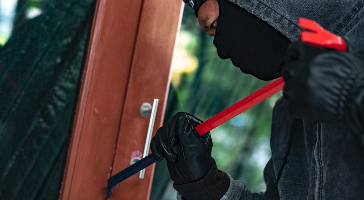 What to Do If You Encounter a Home Intruder